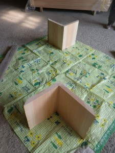 簡単作成テーブルの脚