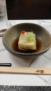 揚げ出し胡麻豆腐
