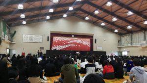 松阪工業体育館、ダンス部発表会