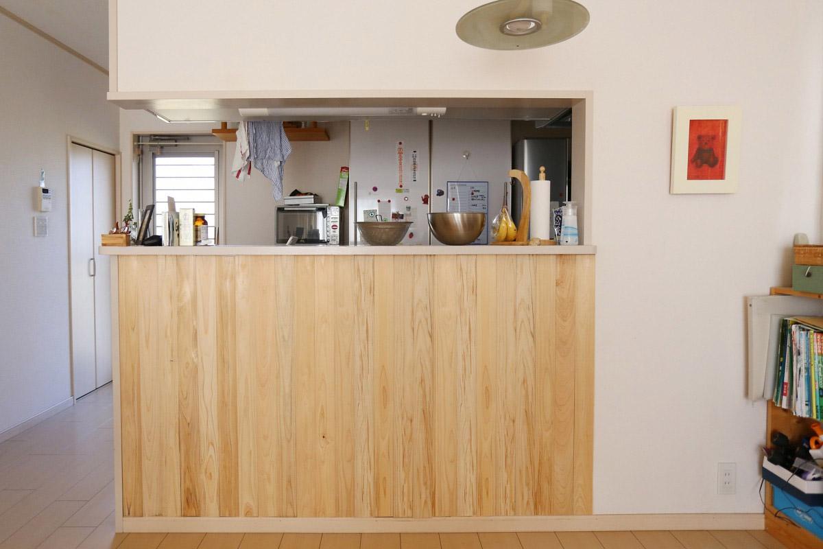 しもで木材|キッチン施工例2