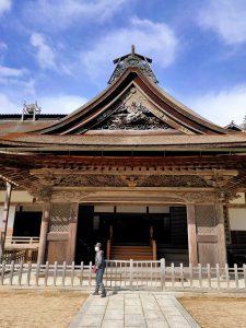 金剛峯寺の玄関